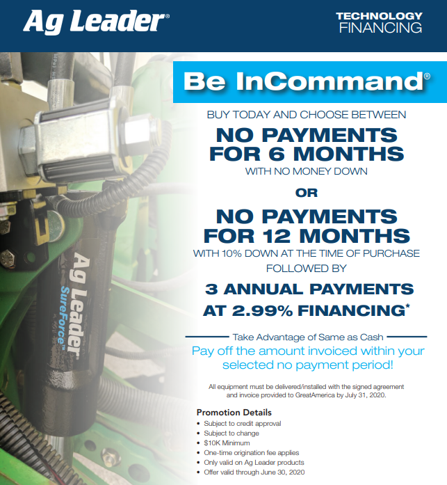 Ag Leader® Be InCommand®
